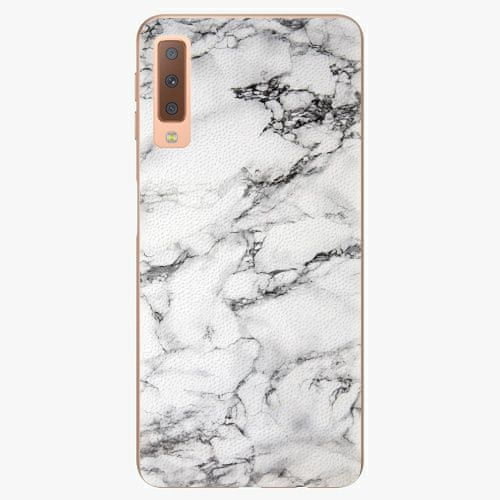 iSaprio Plastový kryt - White Marble 01 - Samsung Galaxy A7 (2018)