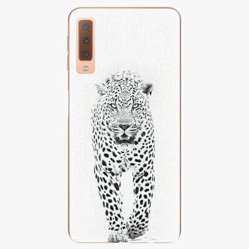 iSaprio Plastový kryt - White Jaguar - Samsung Galaxy A7 (2018)