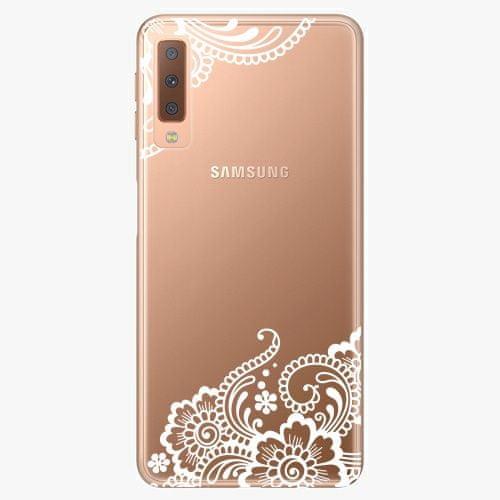 iSaprio Plastový kryt - White Lace 02 - Samsung Galaxy A7 (2018)