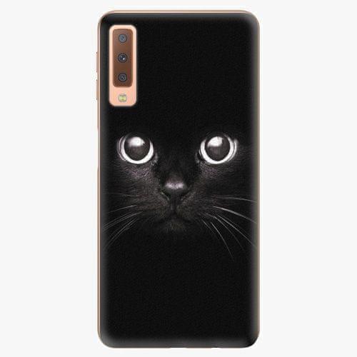 iSaprio Plastový kryt - Black Cat - Samsung Galaxy A7 (2018)