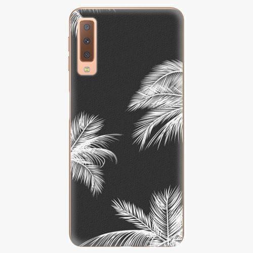 iSaprio Plastový kryt - White Palm - Samsung Galaxy A7 (2018)