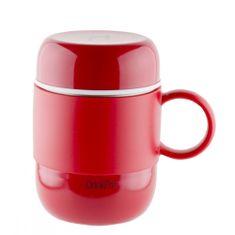 Pioneer DrinkPod füles thermo bögre piros, 280 ml