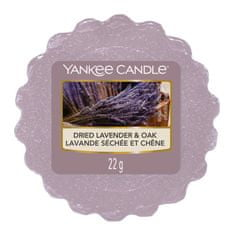 Yankee Candle vonný vosk Dried Lavender & Oak (Sušená levandule a dub) 22g