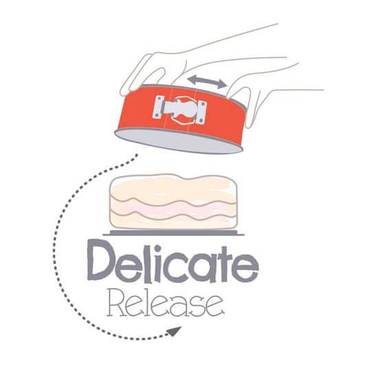 Tefal DELIBAKE modelček za pripravo torte J1641174, 19 cm
