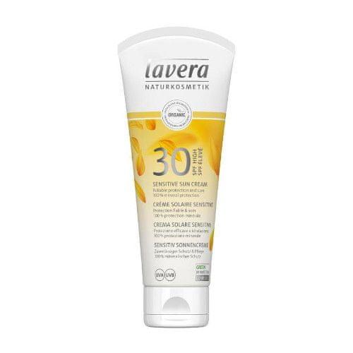 Lavera Opalovací krém SPF 30 Sensitive (Sun Cream) 100 ml
