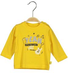 Blue Seven otroška majica z dolgimi rokavi, 68, rumena