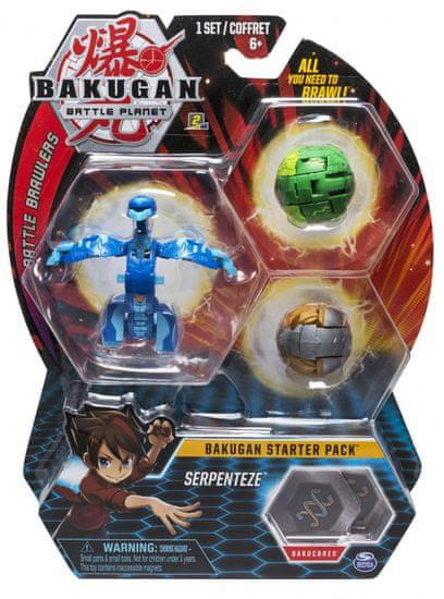 Bakugan Startovací sada 3 ks Serpenteze