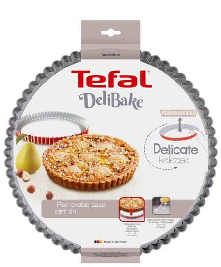 Tefal DELIBAKE modelček za pito z odstranljivim dnom J1641574, 28 cm