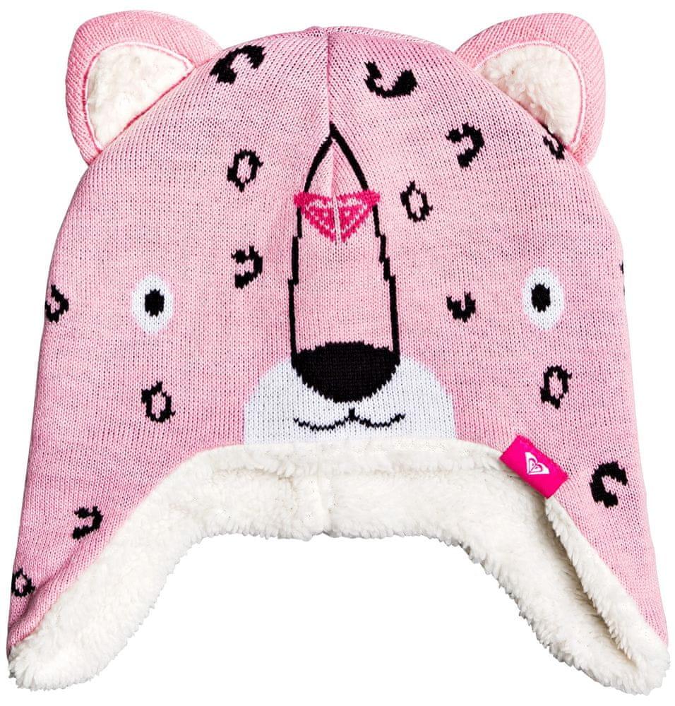 Roxy dívčí čepice Leopard Beanie růžová