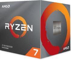 AMD Ryzen 7 3800X, Wraith Prism hladilnik, 105 W procesor