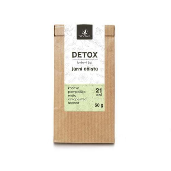 Allnature Detox zeliščni čaj, 50 g