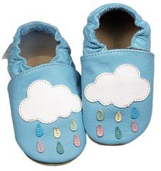 baBice papuče za djecu s oblacima, 16,5, plava