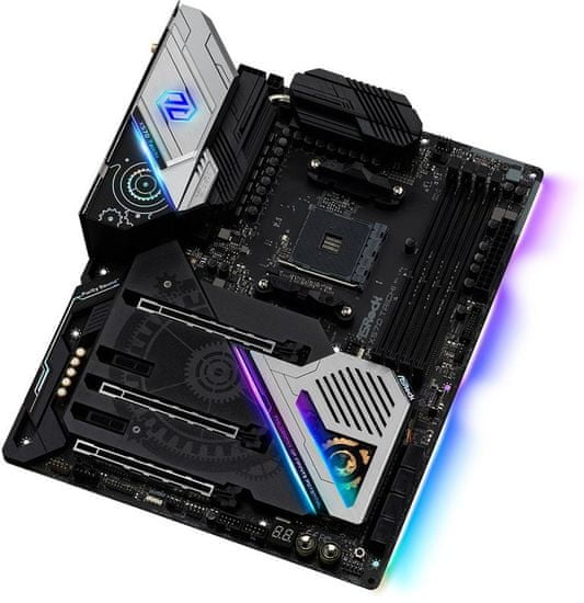 ASRock X570 Taichi, DDR4, USB 3.2 Gen2, Wi-Fi, AM4, ATX osnovna plošča