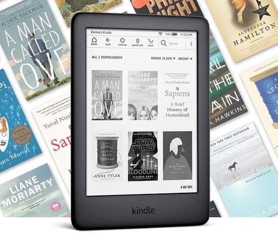 Amazon czytnik New Kindle 2020, 8GB, Black - BEZ REKLAM