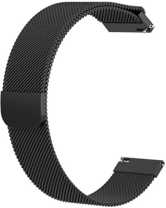 eses Milánský tah černý pro Samsung Galaxy watch 46mm/Samsung gear s3/Huawei 2 1530001050