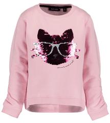 Blue Seven majica za djevojčice sa šljokicama, ružičasta, 98