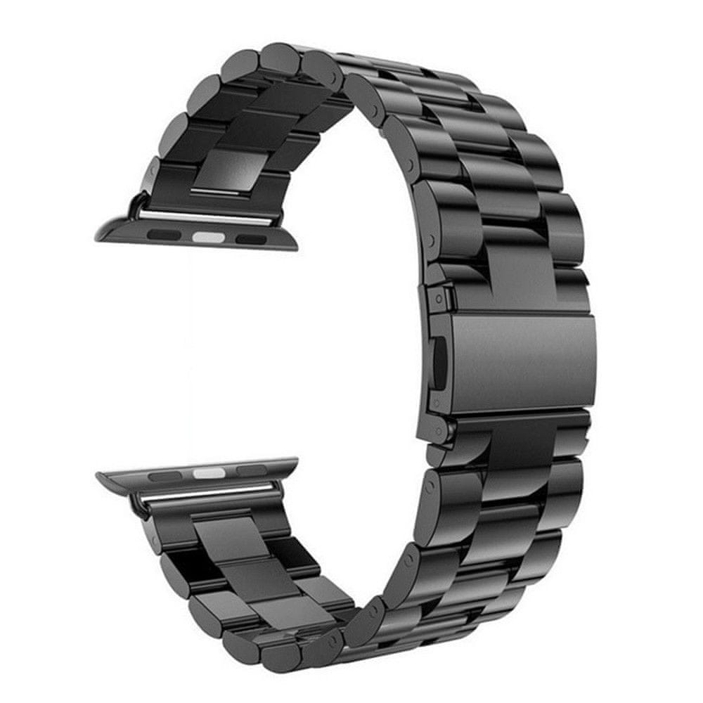 eses Kovový řemínek 42mm černý pro apple watch 1530000091