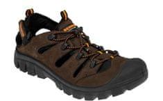 Bennon Kožené outdoorové sandále Medison hnedá 42