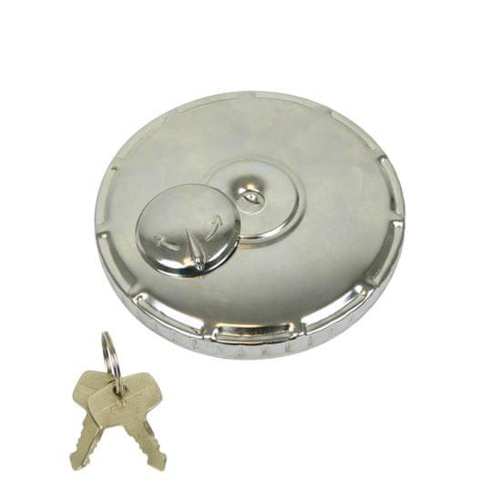 CarPoint čep rezervoarja tovorni, kovinski, s ključem