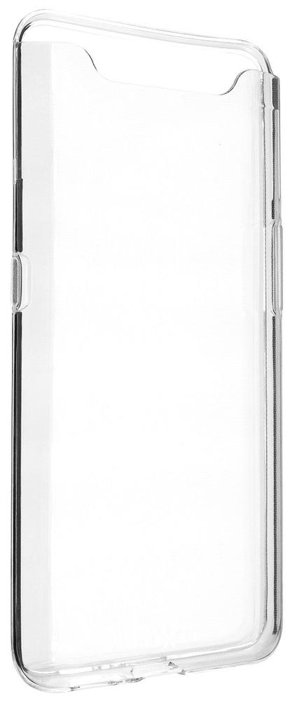 FIXED Ultratenké TPU gelové pouzdro Skin pro Samsung Galaxy A80, 0,6 mm, čiré FIXTCS-413