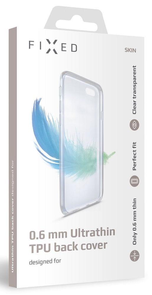 FIXED Ultratenké TPU gelové pouzdro Skin pro Honor 20 Lite, 0,6 mm, čiré FIXTCS-418 - zánovní