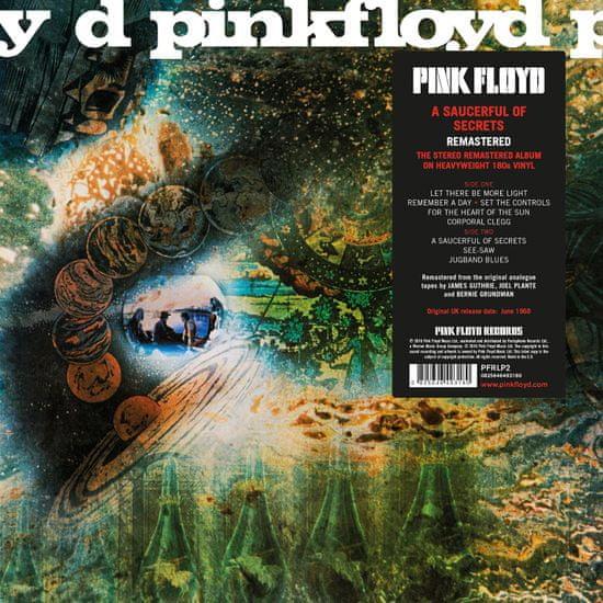 Pink Floyd: A Saucerful Of Secrets - 2011 Remastered - LP