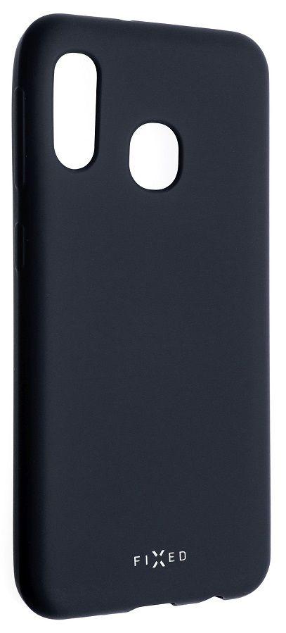 Fixed Zadní pogumovaný kryt Story pro Samsung Galaxy A20e, modrý FIXST-399-BL