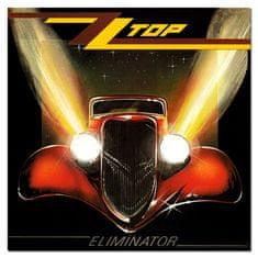ZZ Top: Eliminator (Red Coloured Vinyl) - LP