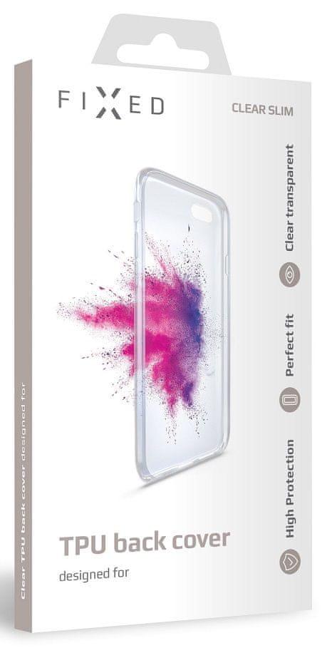 FIXED TPU gelové pouzdro pro Huawei P Smart Z, čiré FIXTCC-417