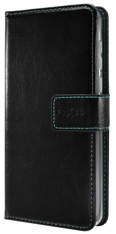 FIXED Pouzdro typu kniha Opus pro Huawei Y5 (2019), černé FIXOP-408-BK