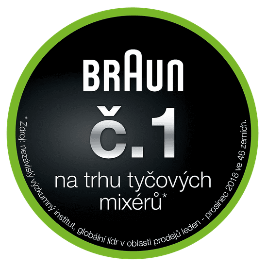 Braun tyčový mixér MultiQuick 5 MQ 500 Soup