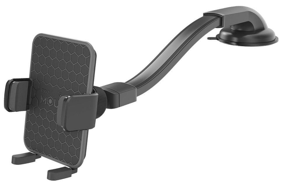 Celly Univerzální držák mobilního telefonu s přísavkou a otočným kloubem Mount Flex Plus, černý MOUN