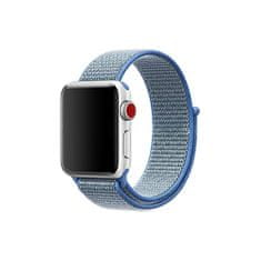 eses športni pašček za apple watch 1530000025, najlon, 42 mm, moder