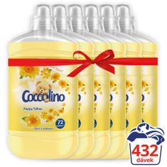 Coccolino Happy Yellow 6x1,8L