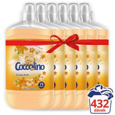 Coccolino Orange Rush 6x1.8L