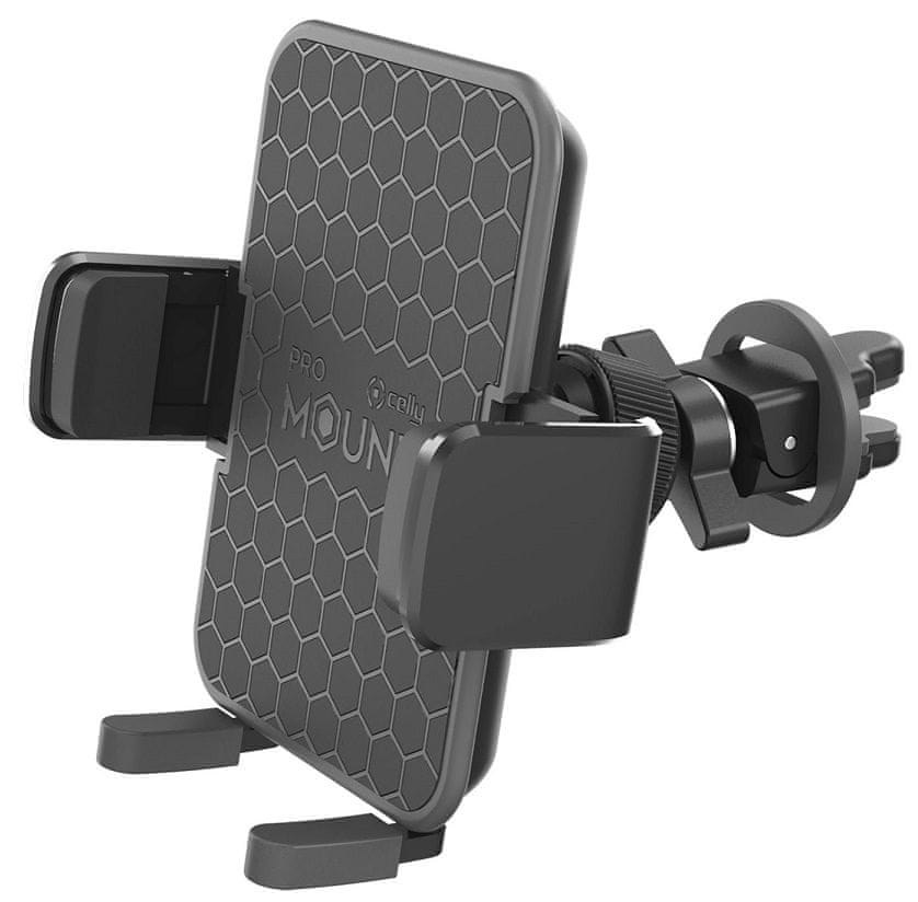 Celly držák mobilu Airvent Plus, černý (MOUNTVENTPLUSBK)