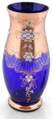 Bohemia Glass  Vase Vreča - modra