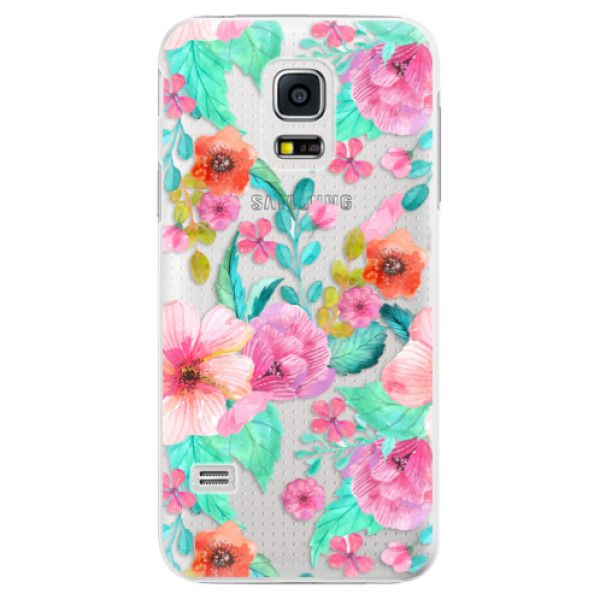 iSaprio Plastový kryt - Flower Pattern 01 pro Samsung Galaxy S5 Mini