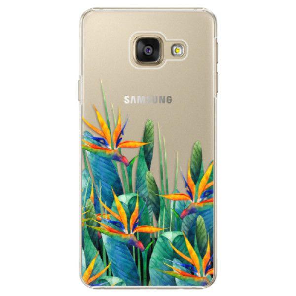 iSaprio Plastový kryt - Exotic Flowers pro Samsung Galaxy A3 2016