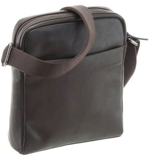BUGATTI Męska torba crossbody Corso 49390102 Dark Brown