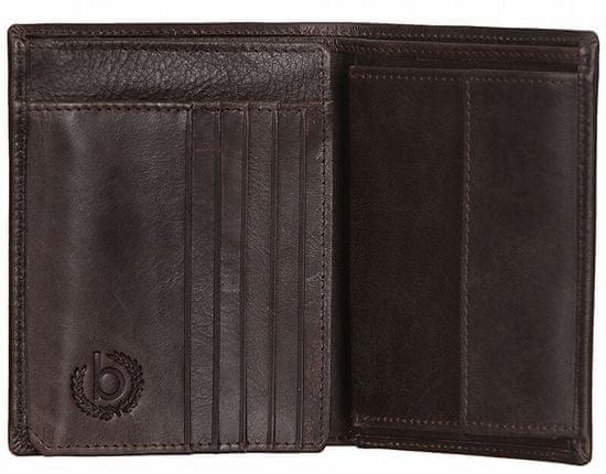 BUGATTI Męski portfel skórzany Volo 49218302 Brown