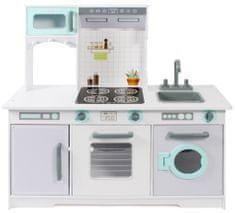 Bayer Chic kuchnia drewniana zielono - biała