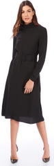 Jimmy Sanders ženska obleka 19W DRW42064, L, črna