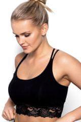 Eldar Fitness top Aurora black + Nadkolienky Gatta Calzino Strech, čierna, XL