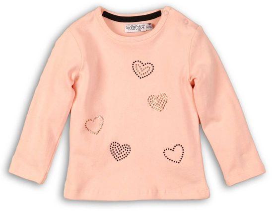 Dirkje dekliška majica s srcem