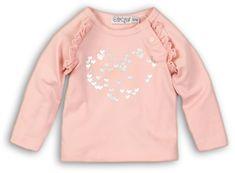 Dirkje koszulka dziewczęca Love 68 różowa