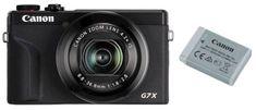 Canon PowerShot G7 X Mark III digitalni fotoaparat + baterija, črn