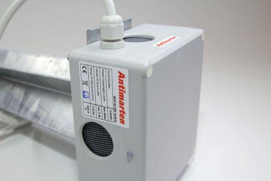 MAMMOOTH Ultrazvukový plašič hlodavců, montáž na parkovišti, v zahradě, 230 V, počet zařízení: 1 ks, počet reproduktorů: 4 ks