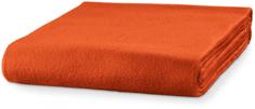 Piccolio Oranžová fleecová deka, 120x150cm