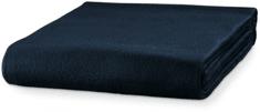 Piccolio Tmavomodrá fleecová deka, 120x150cm